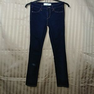 Abercrombie and Fitch New York stretch blue